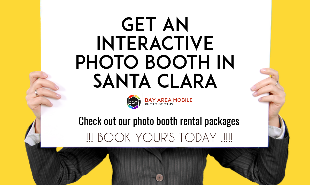 Photo Booth Rentals Santa Clara CA - BAM Photo Booths