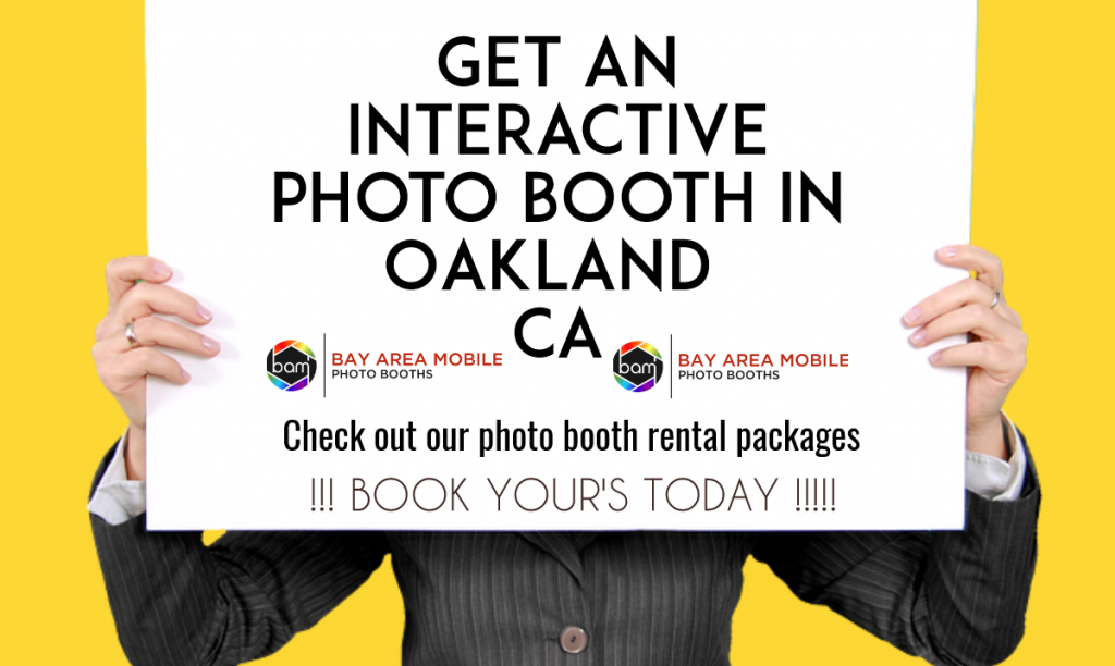 Photo booth rental Oakland CA