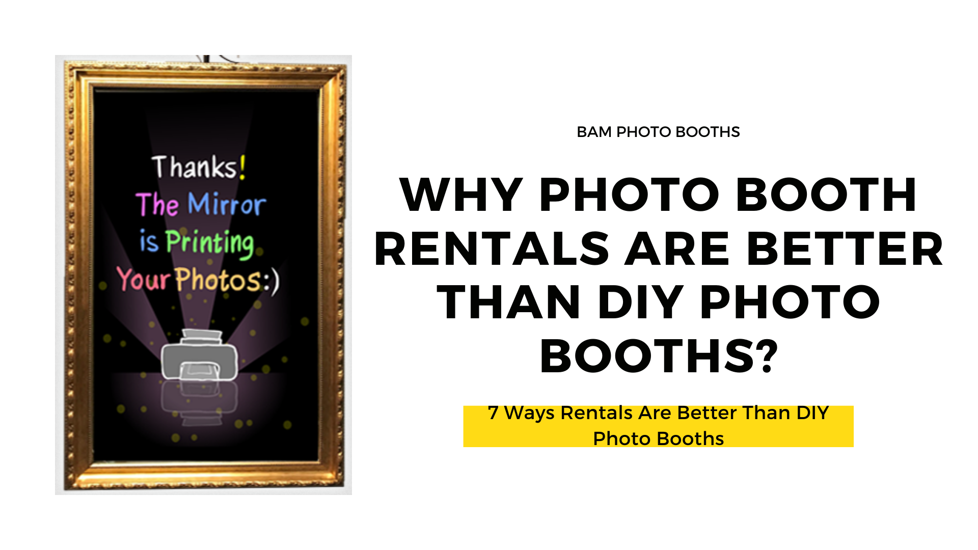 Photo Booth Rentals Are Better Than DIY